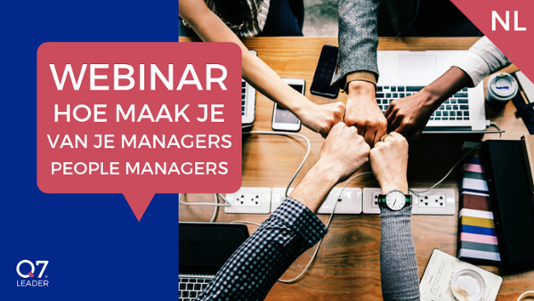 Hoe maak je van je managers people managers