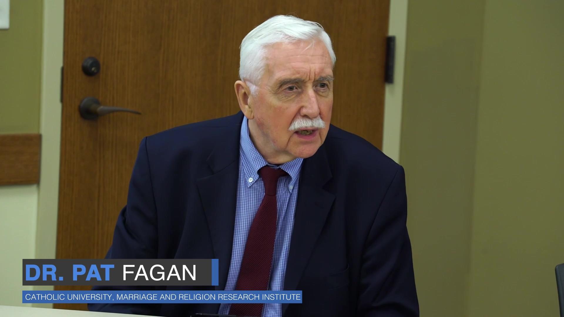 Dr. Pat Fagan Talk