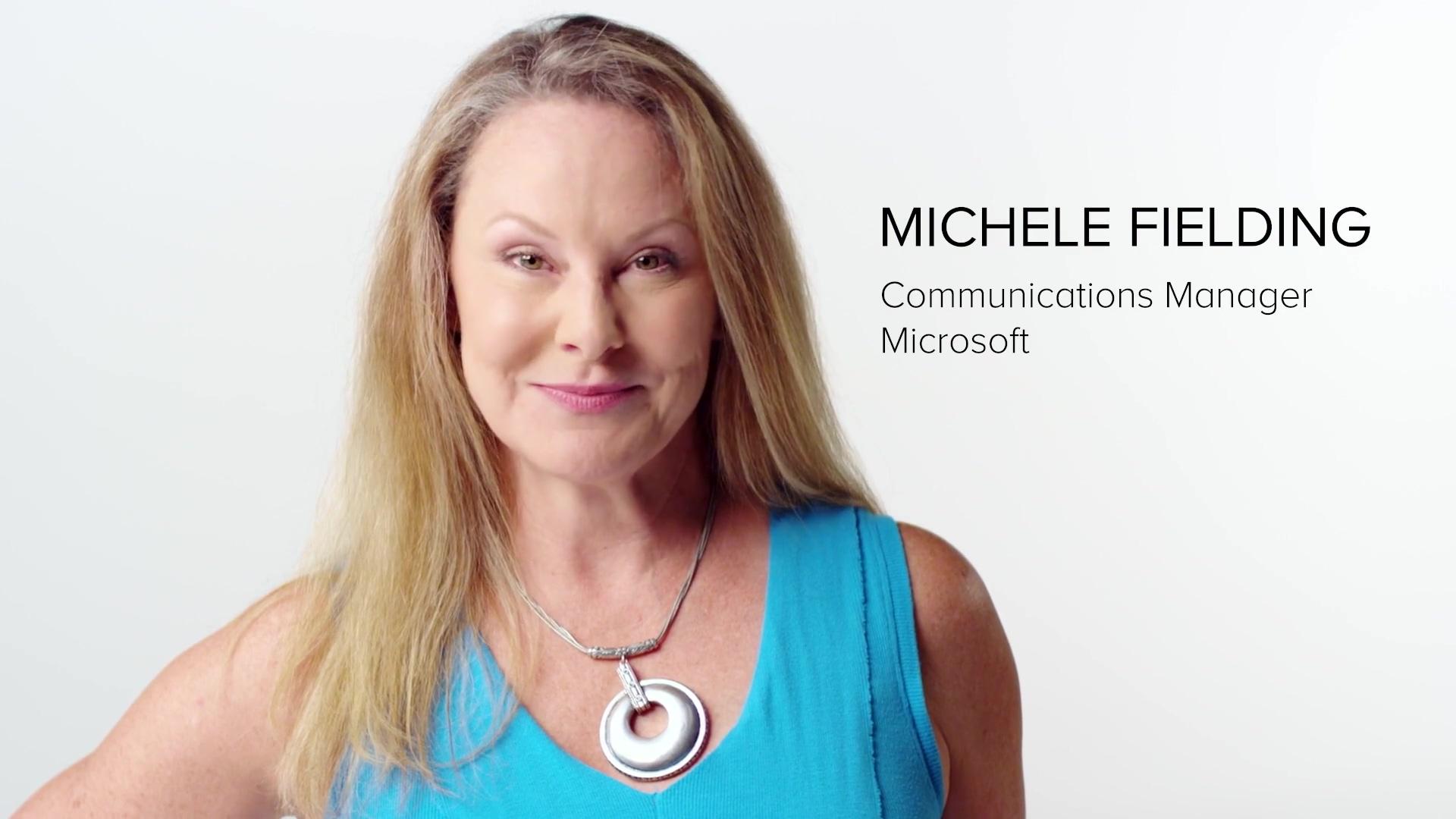 Testimonial-video-Microsoft-Michele-Fielding-VMG-Studios