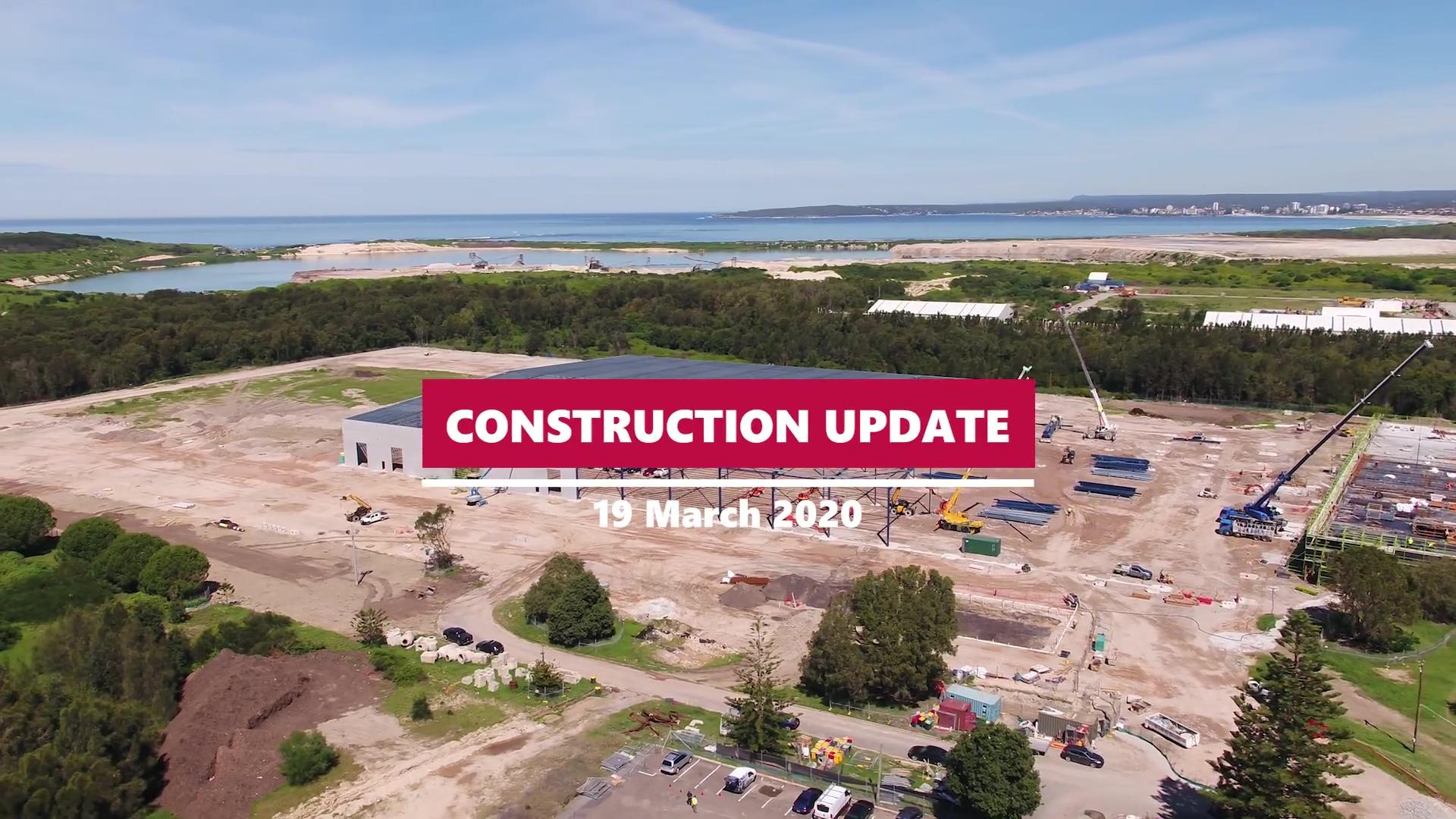 DDA-121-Construction Update