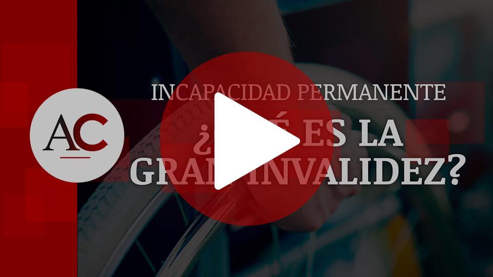 5. Gran Invalidez (más reciente)