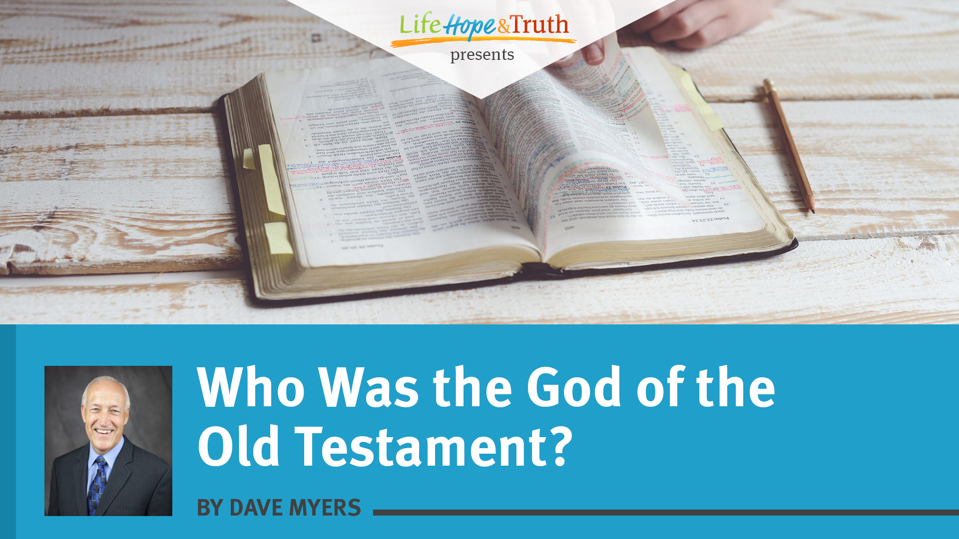 Who Was the God of the Old Testament?