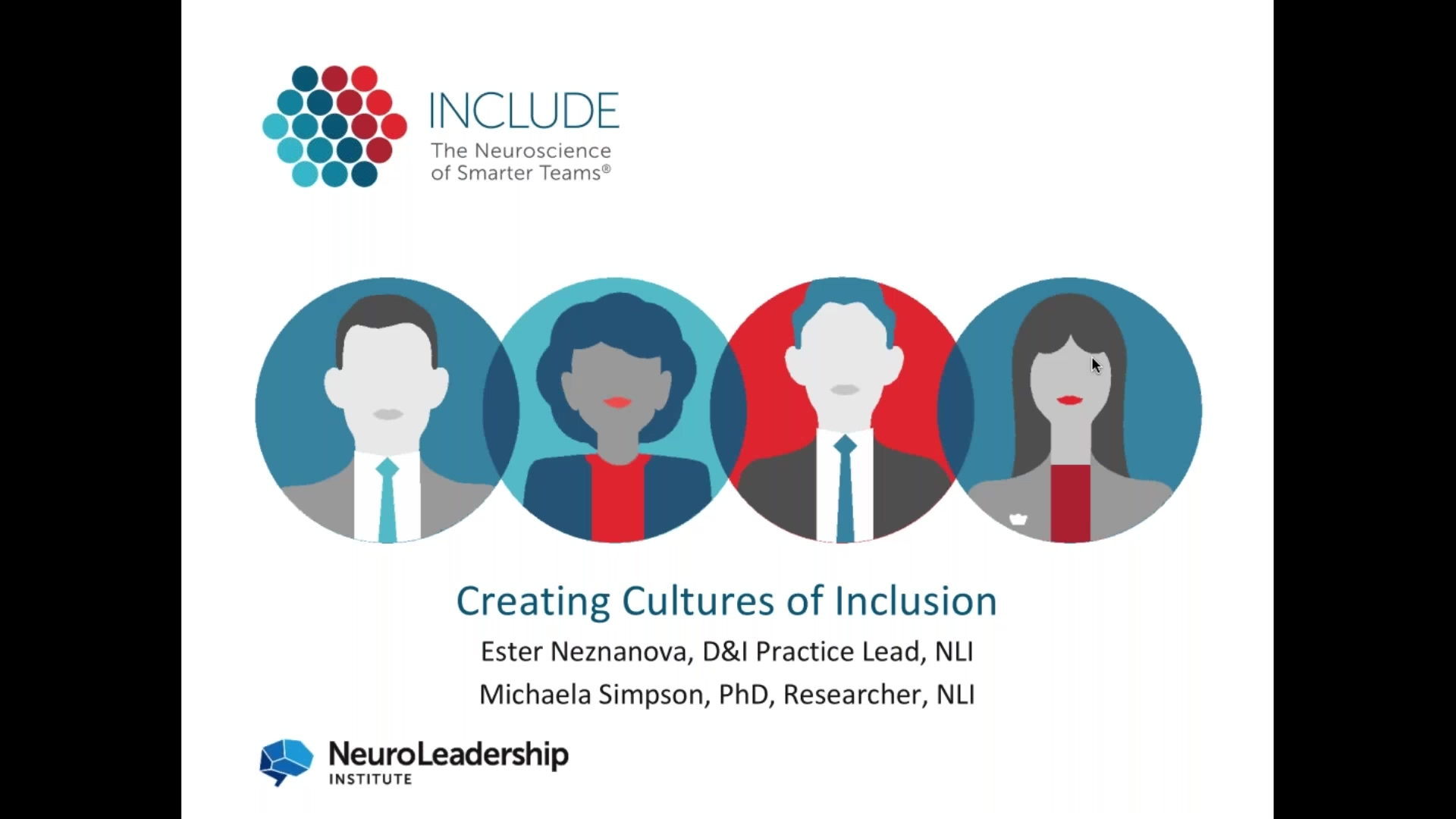 NLI Webinar _ Creating Cultures of Inclusion