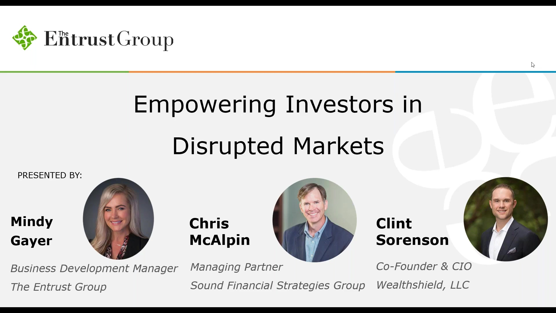Empowering Investors in Disrupted Markets