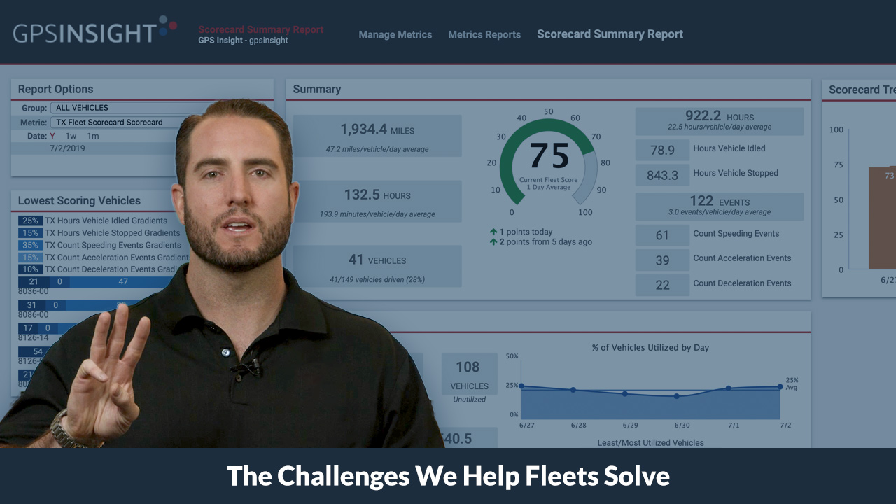 The Challenges We Help Fleets Solve