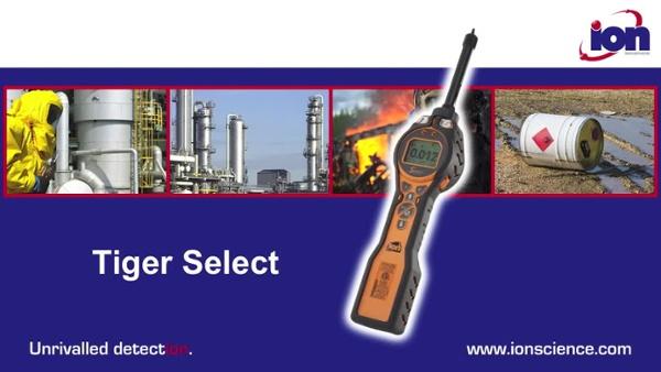 Tiger select handheld benzene detector UK V1.0