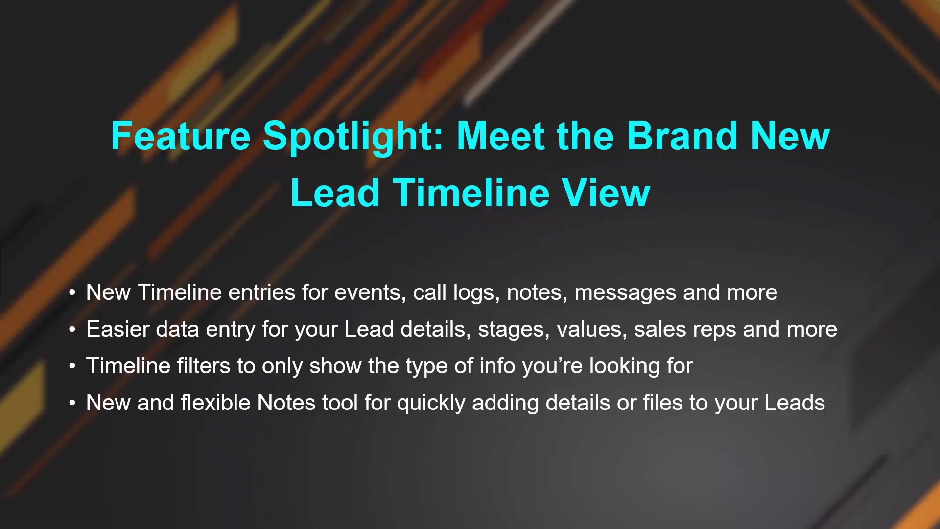 Feature Spotlight - Meet the Brand New Lead Timeline View_1