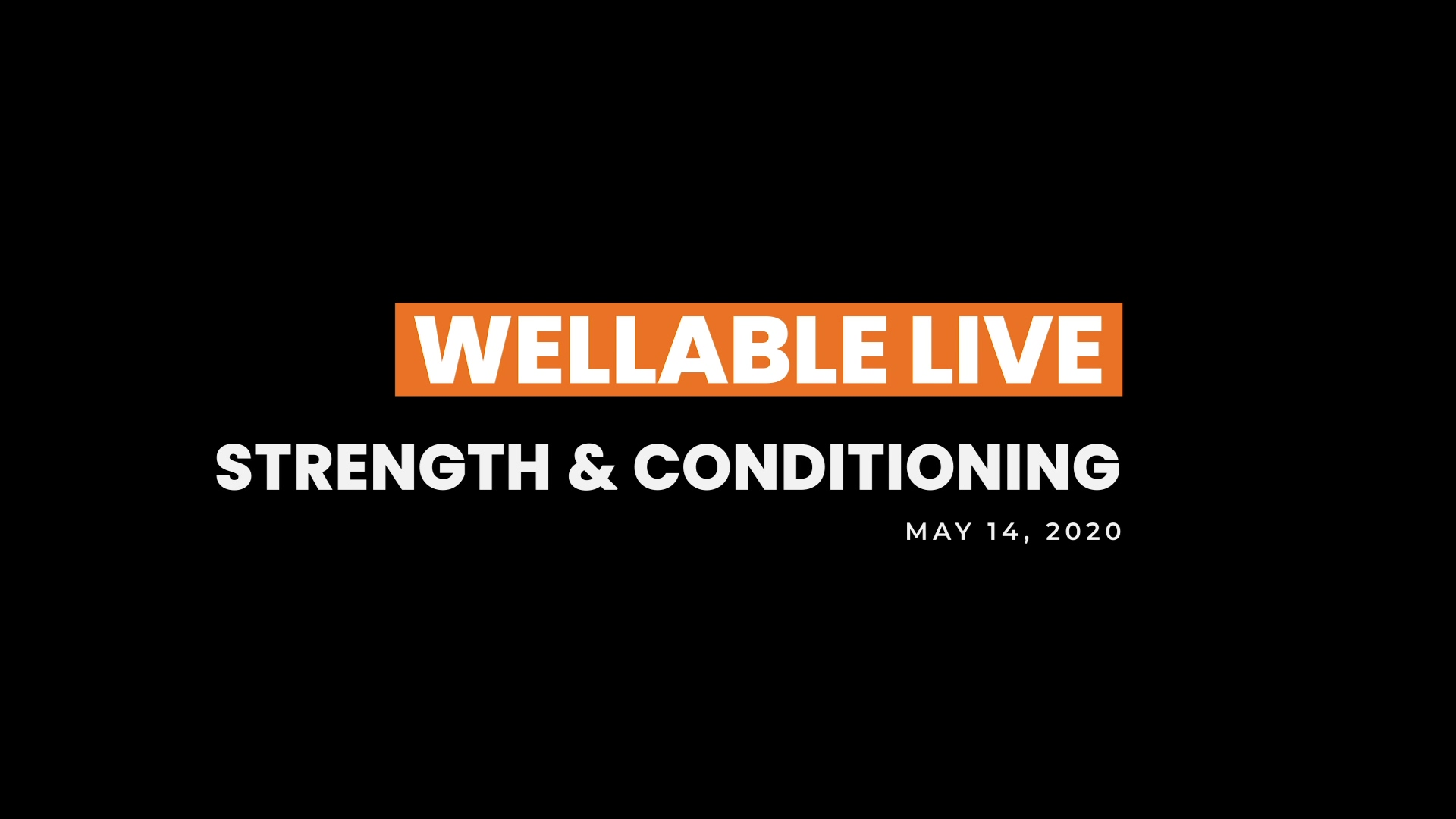 20 0514 Wellable Live