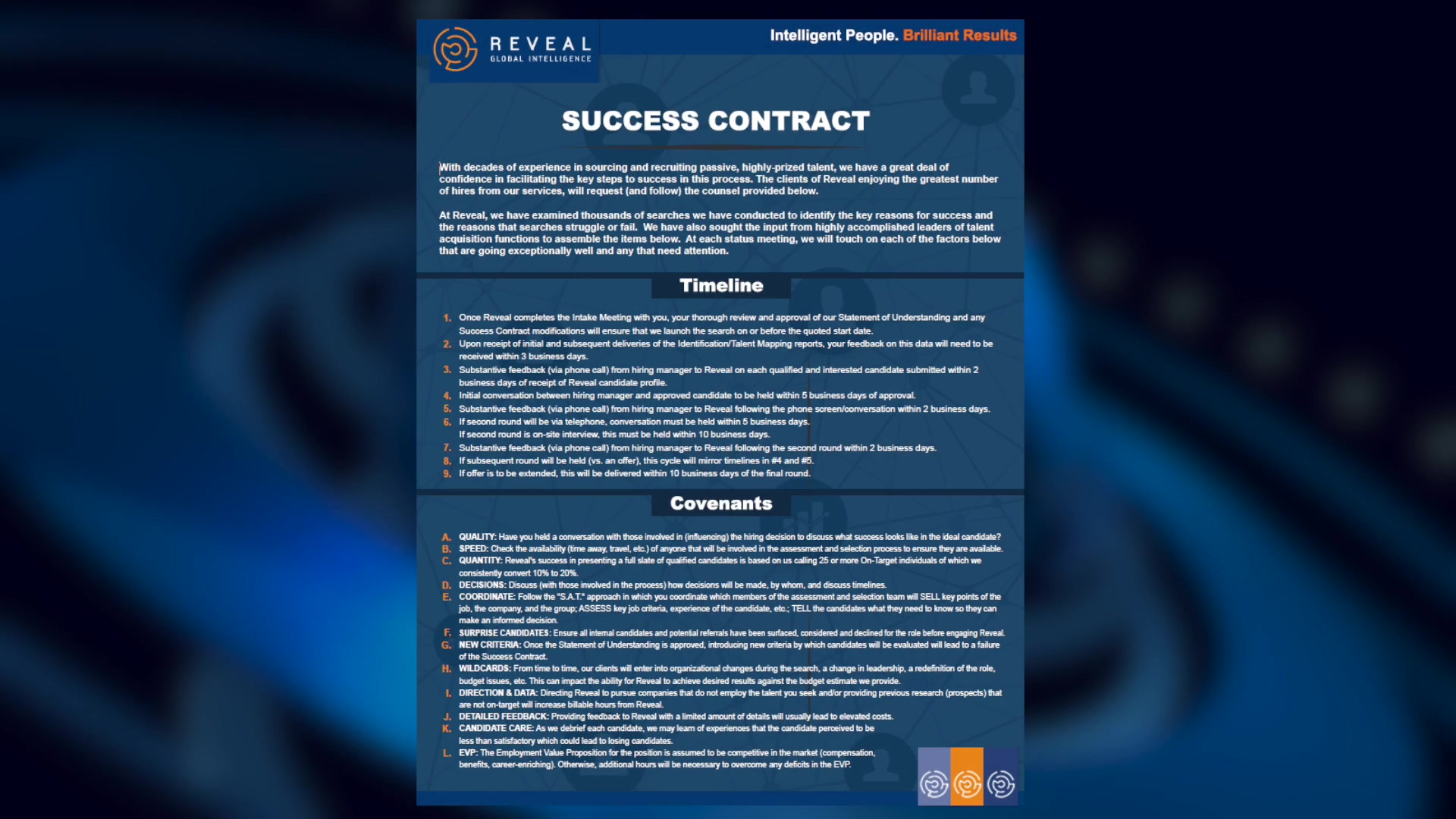 Reveal-The Success Contract #1 no microsite reference