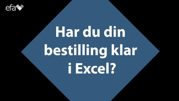 Handle Excel i nettbutikken NY
