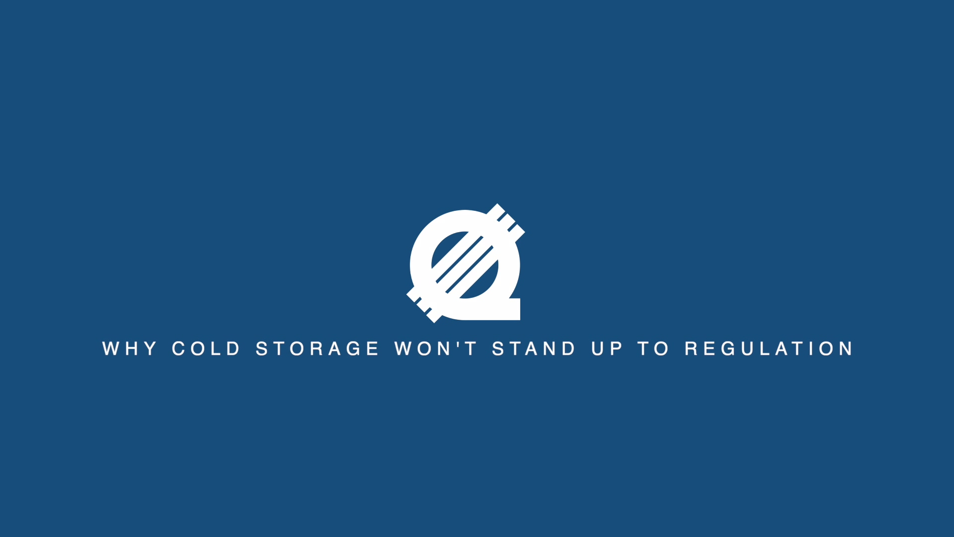 Cold Storage wont stand up to regulation _1MIN-1
