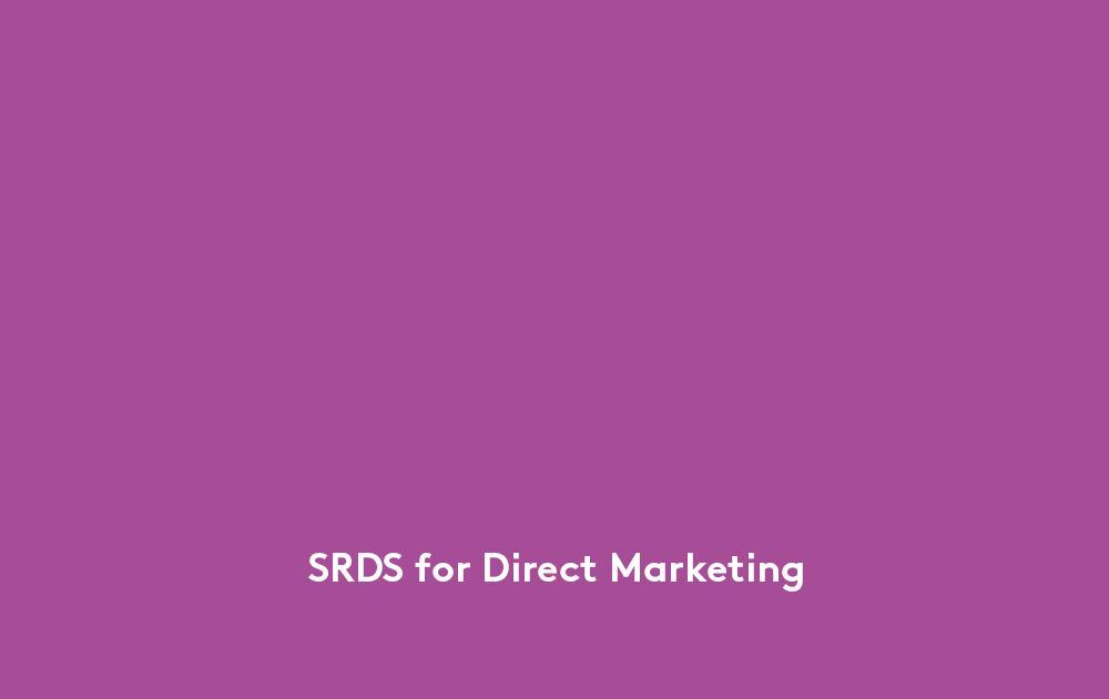 SRDS_DirectMarketing