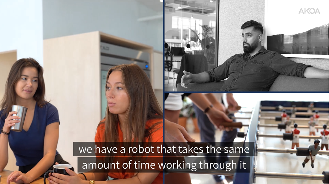 How Robots can save time