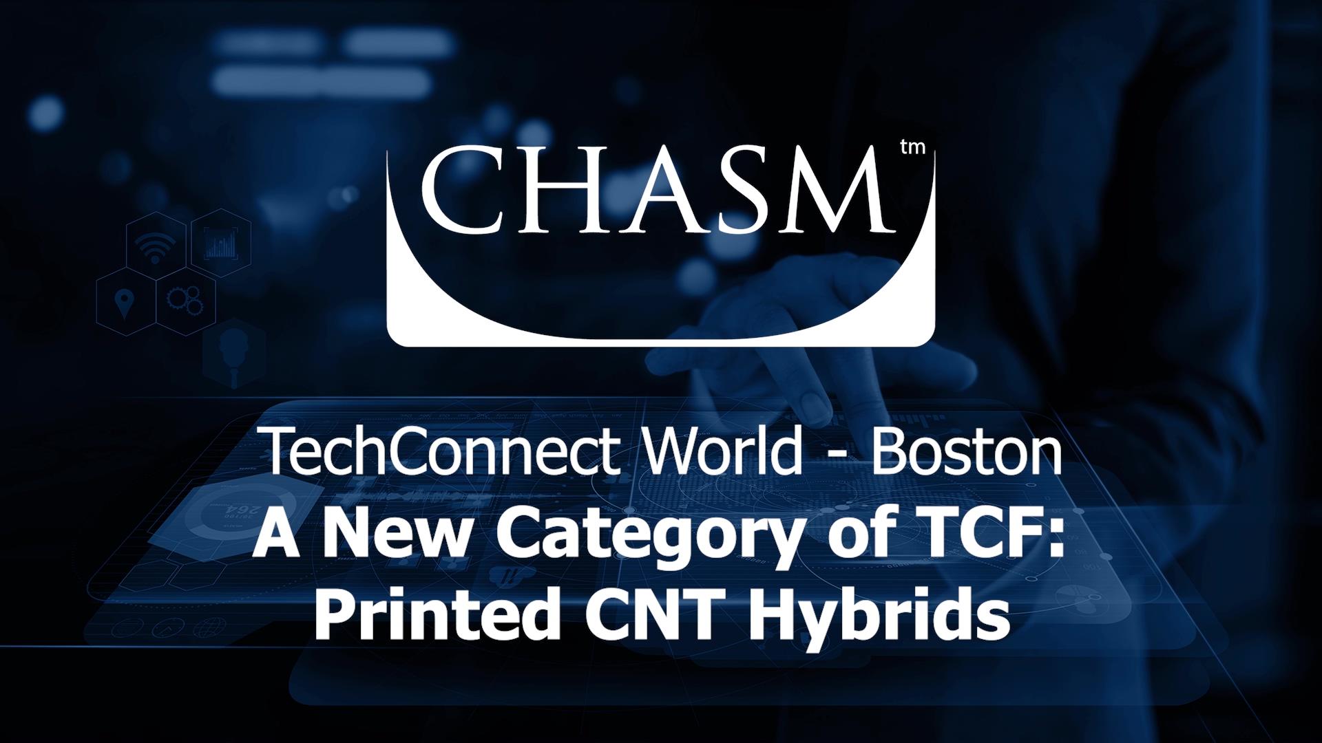 ( PRESENTATION ) TechConnect 2019 [David Arthur] - Carbon Nanotubes
