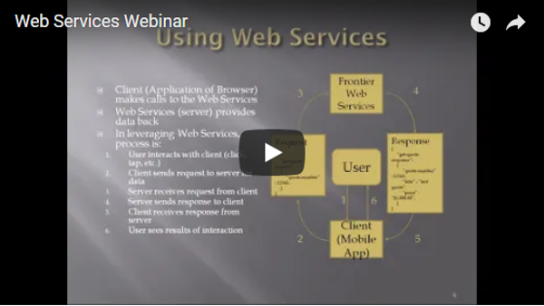 Web Services Webinar