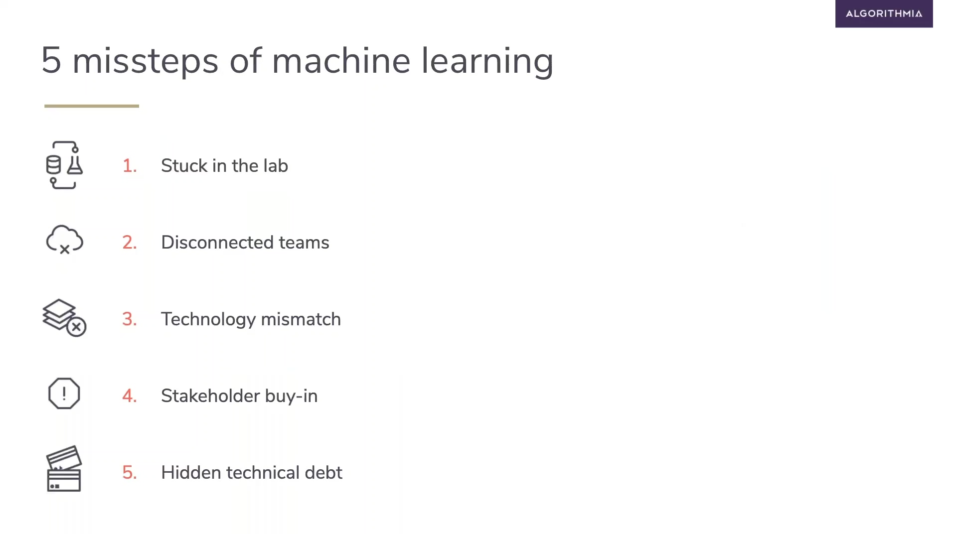 Recording Time - Five Missteps of ML Every Operations Manager Can Avoid (1) (1)
