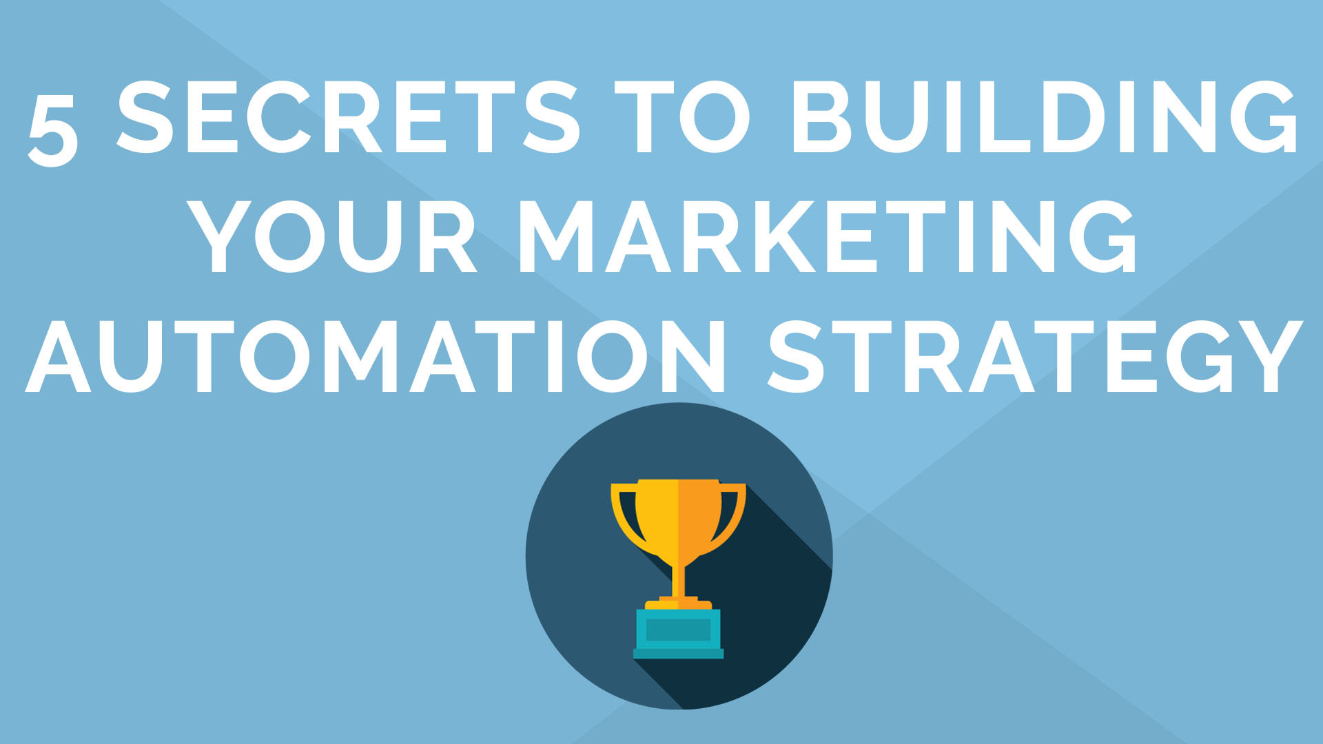 5 Secrets to building your marketing automation strategy in 15 minutes