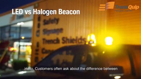 LED vs Halogen Beacon