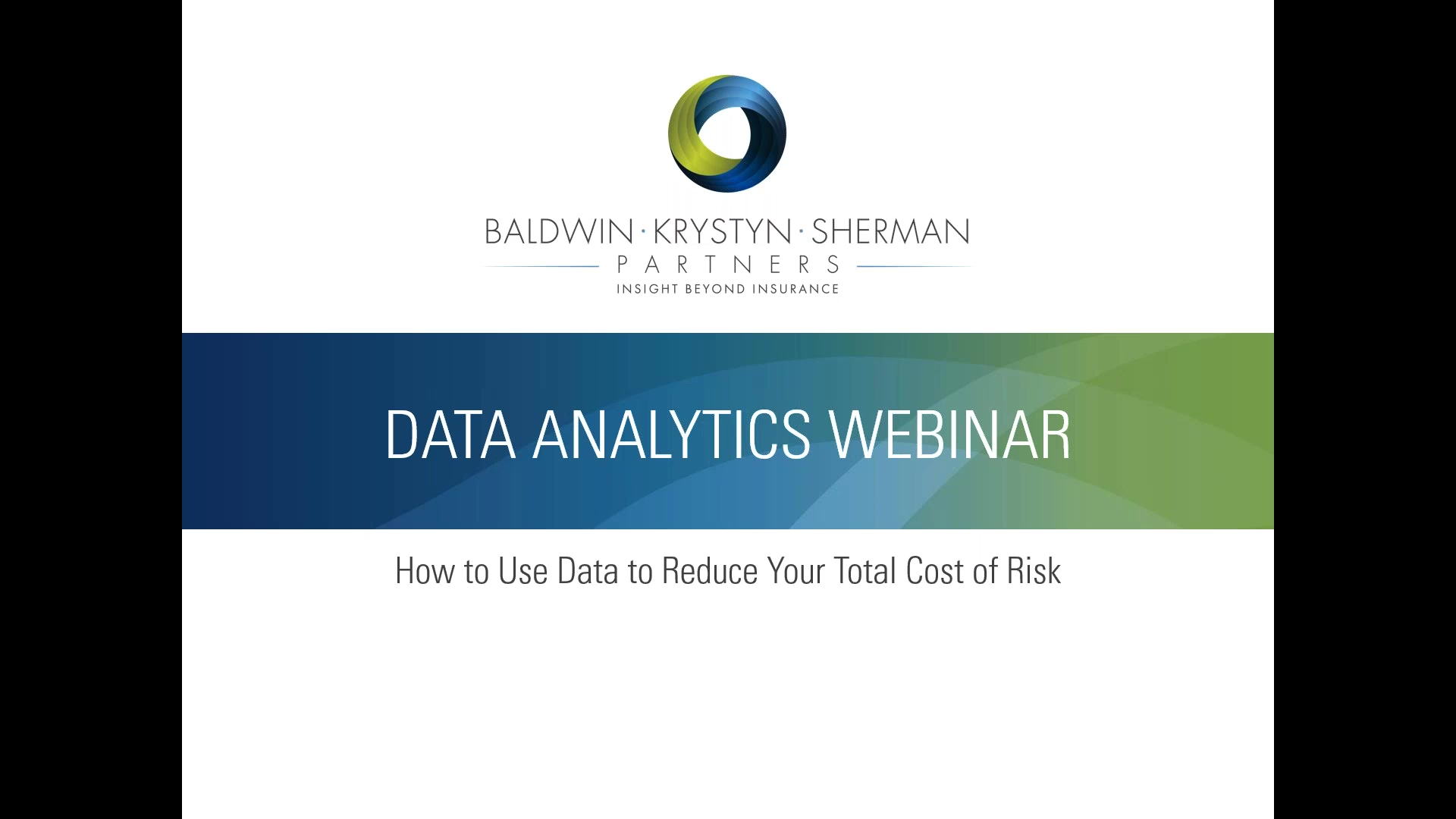 How to Use Data Analytics to Reduce Your Total Cost of Risk
