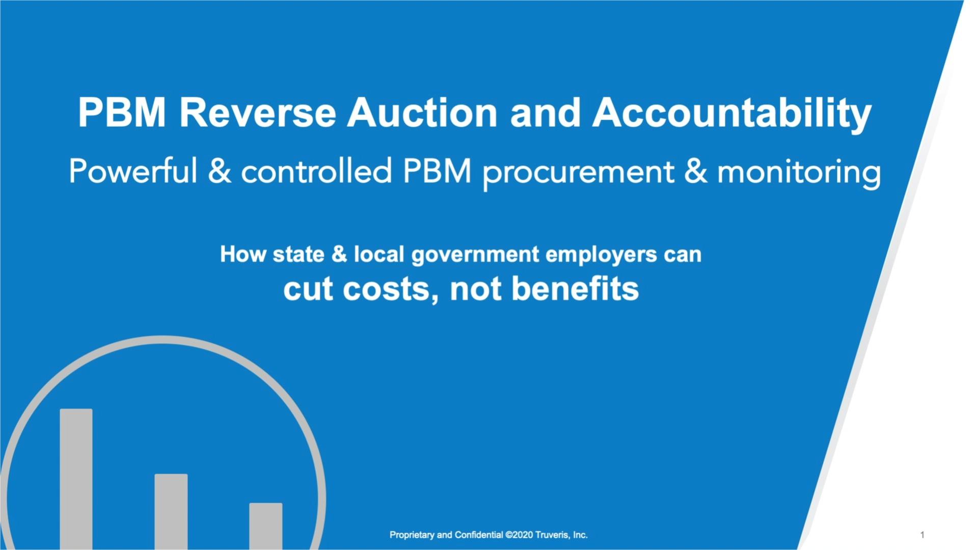 PBM Reverse Auction
