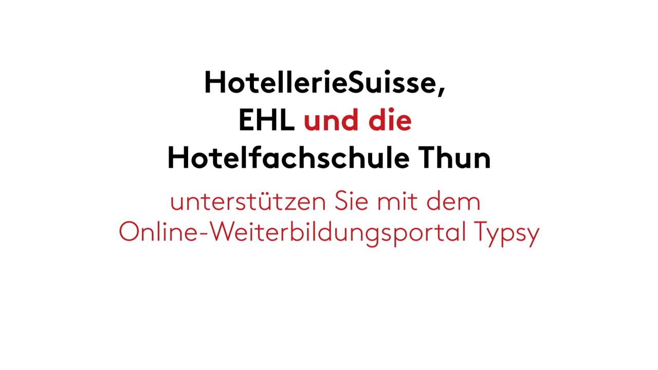 HotellerieSuisse Member Video - German