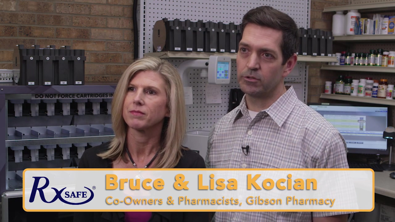 Gibson Pharmacy Athens TX RxSafe Testimonial  Ver1a