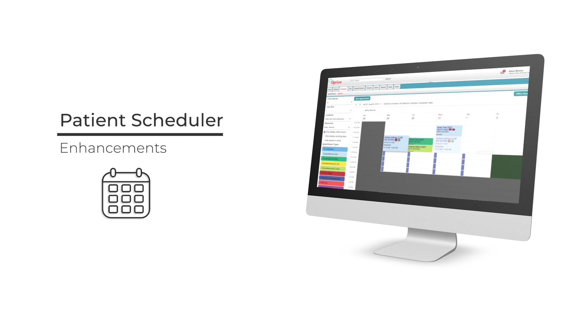 Patient Scheduler promo master
