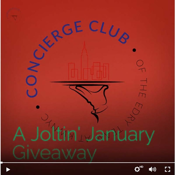Concierge Club -- December Giveaway