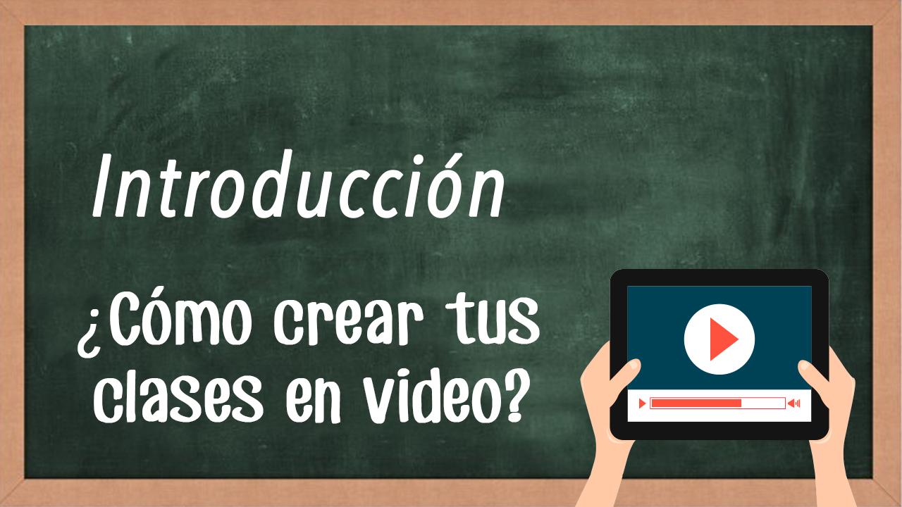 como crear tus clases en video-intro