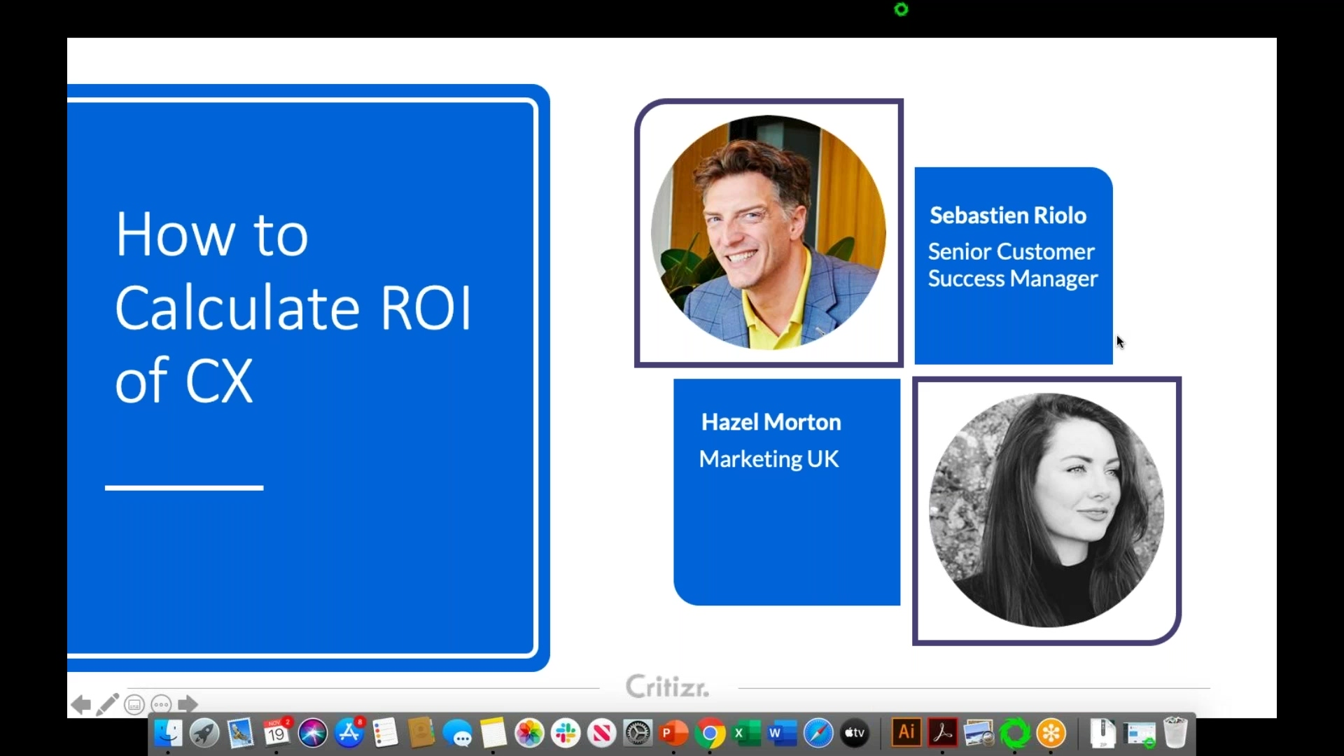 2019-11-19 11.02 How To Calculate The ROI of CX