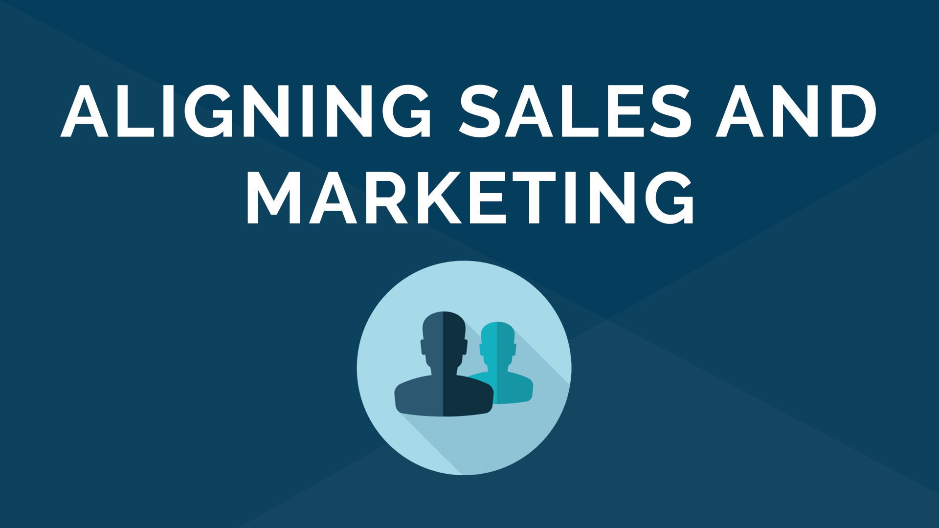 Aligning Marketing and Sales - How to Speak the Same Language Using Technology
