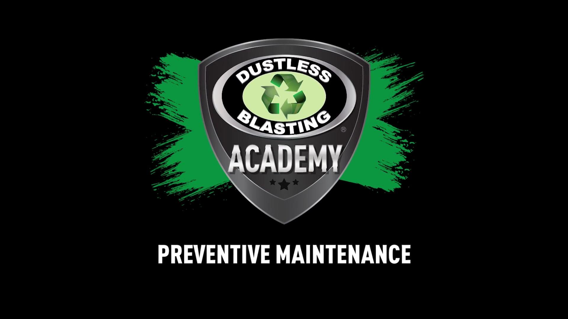DB Academy - Preventive Maintenance
