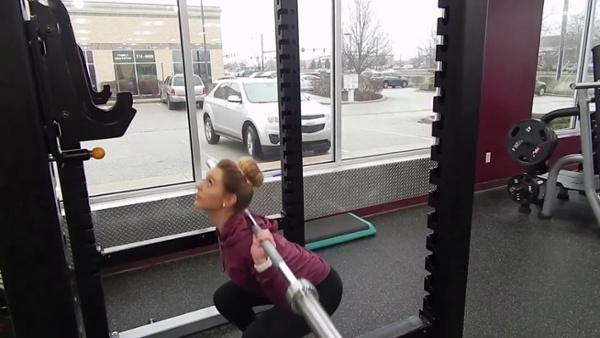 barbell squats