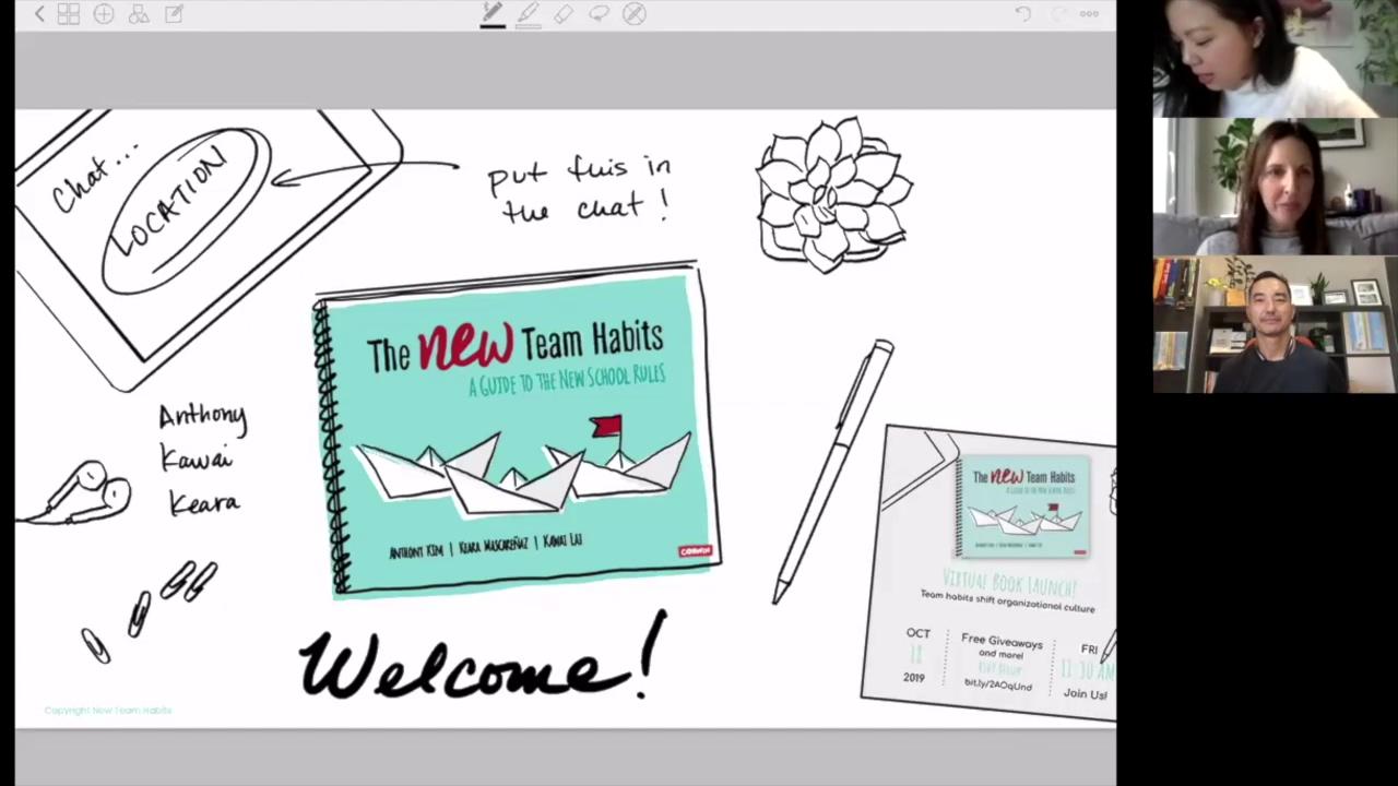 New Team Habits Virtual Book Launch