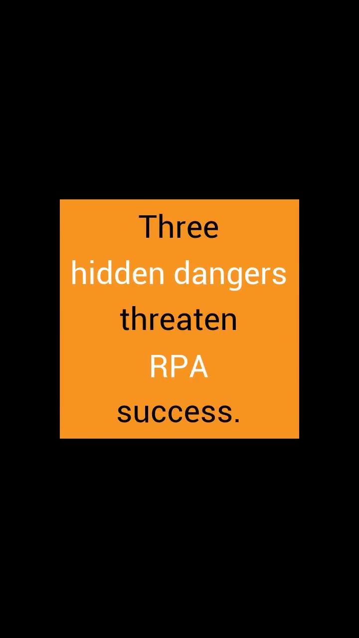 dangers of rpa