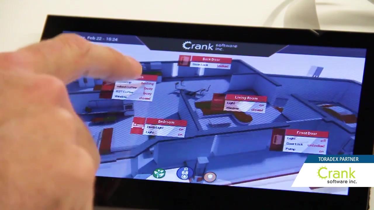 Toradex Partner Highlights at Embedded World 2018_ Crank Software Inc.