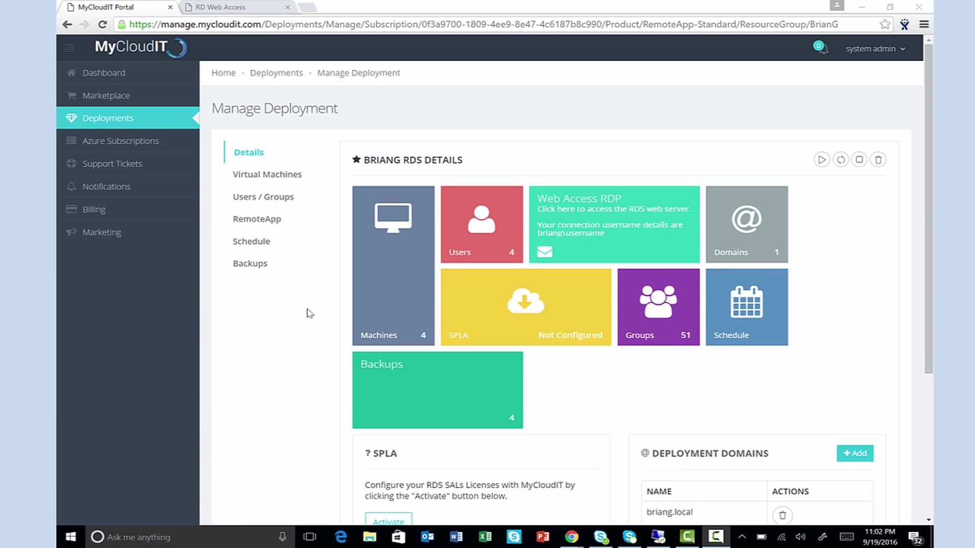 Deploy Remote Applications in Azure Cloud