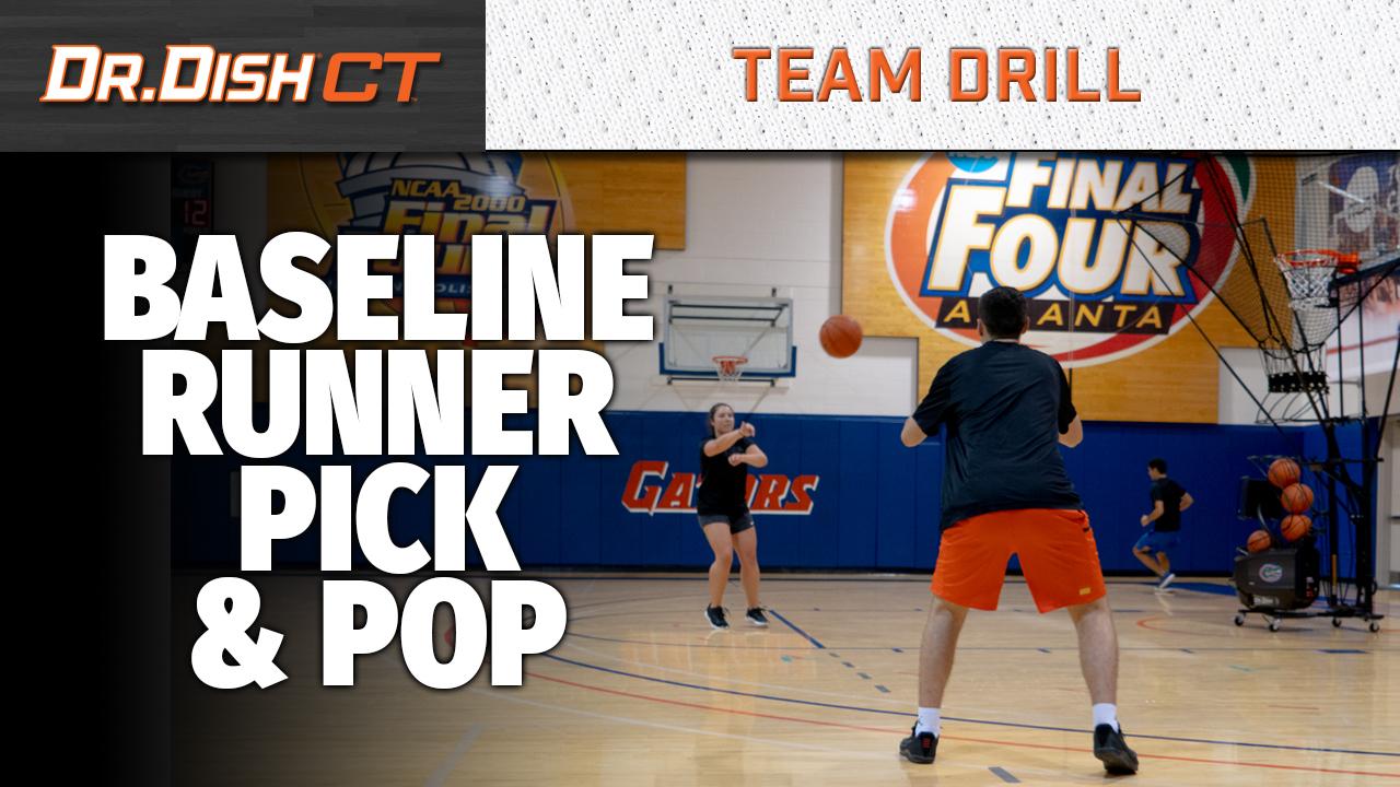 Baseline Runner Pick & Pop - YT