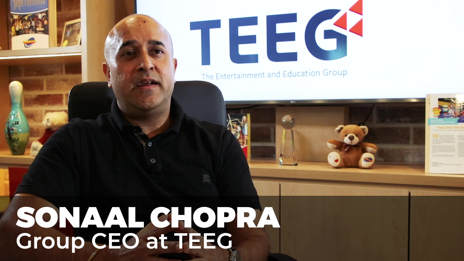 TEEG CEO Sonaal Chopra LONG VERSION with B-ROLL