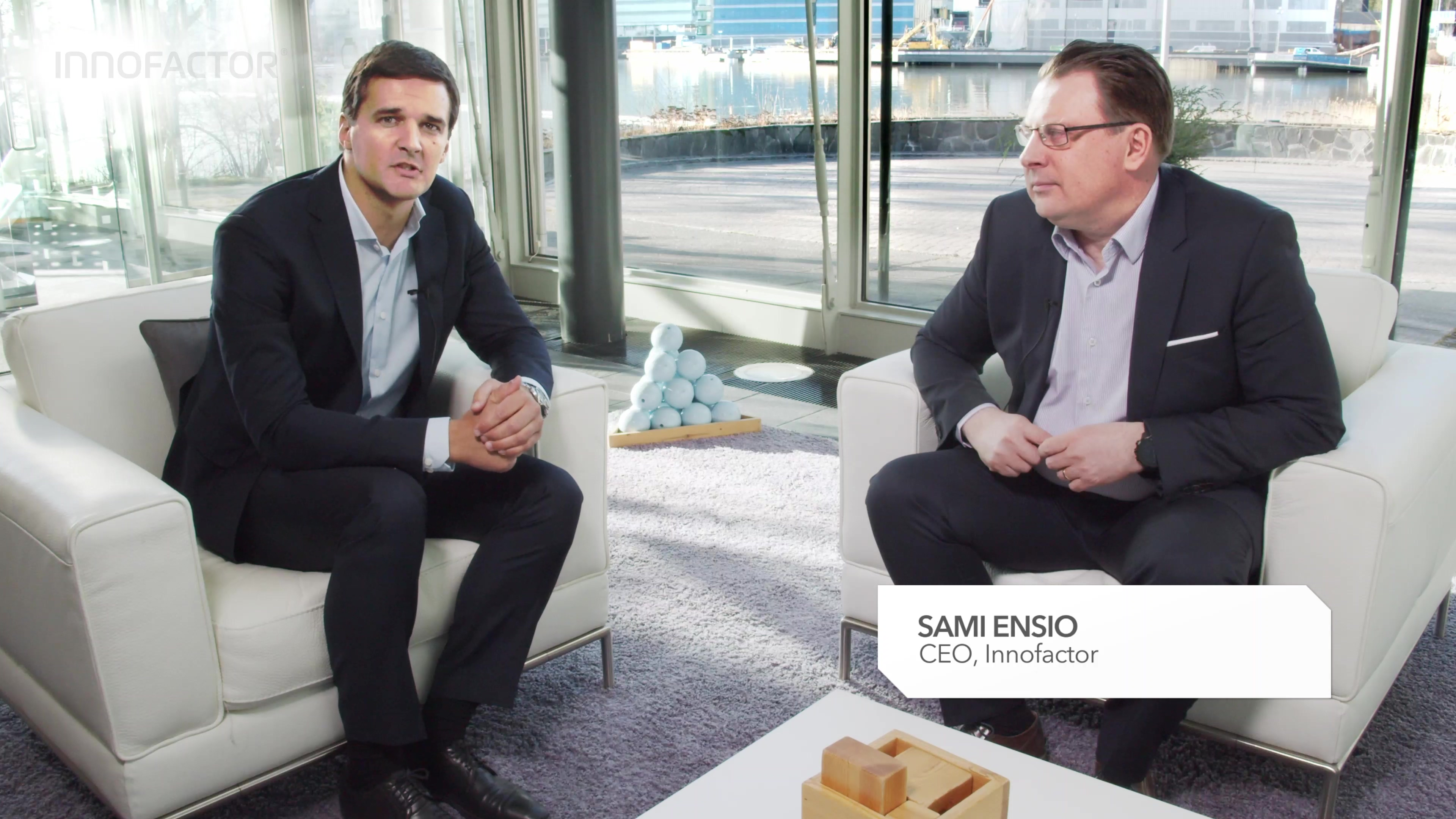 Innofactor Q419 video interview with CEO Sami Ensio full