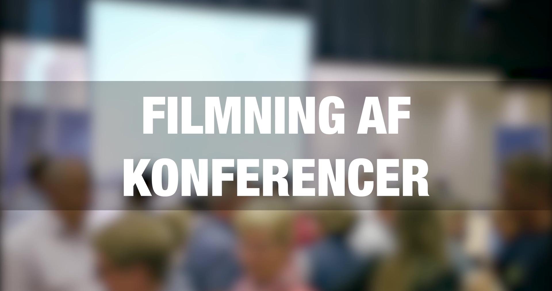 Sådan vælger du videoproduktionsselskab til filmning af konferencer