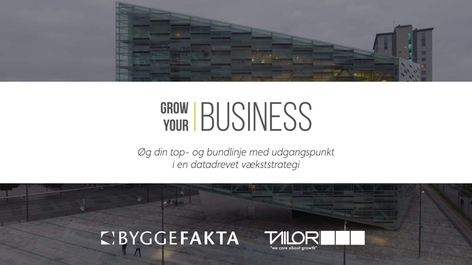 Grow Your Business_ Øg din top- og bundlinje med udgangspunkt i en datadrevet strategi