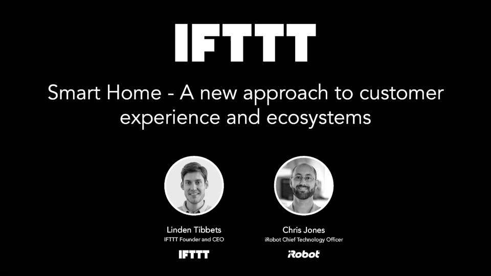 A new approach to Smart Home ecosystems with iRobot and IFTTT — Video 540p