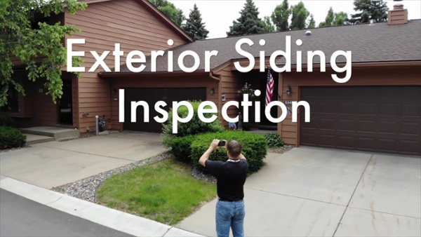 Exterior Siding Inspection
