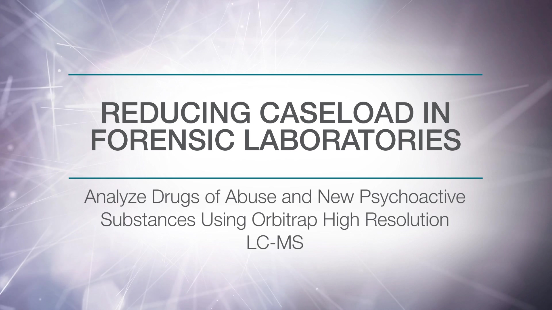 Analysis of Drugs of Abuse and Novel Psychoactive Substances in a Forensic Lab