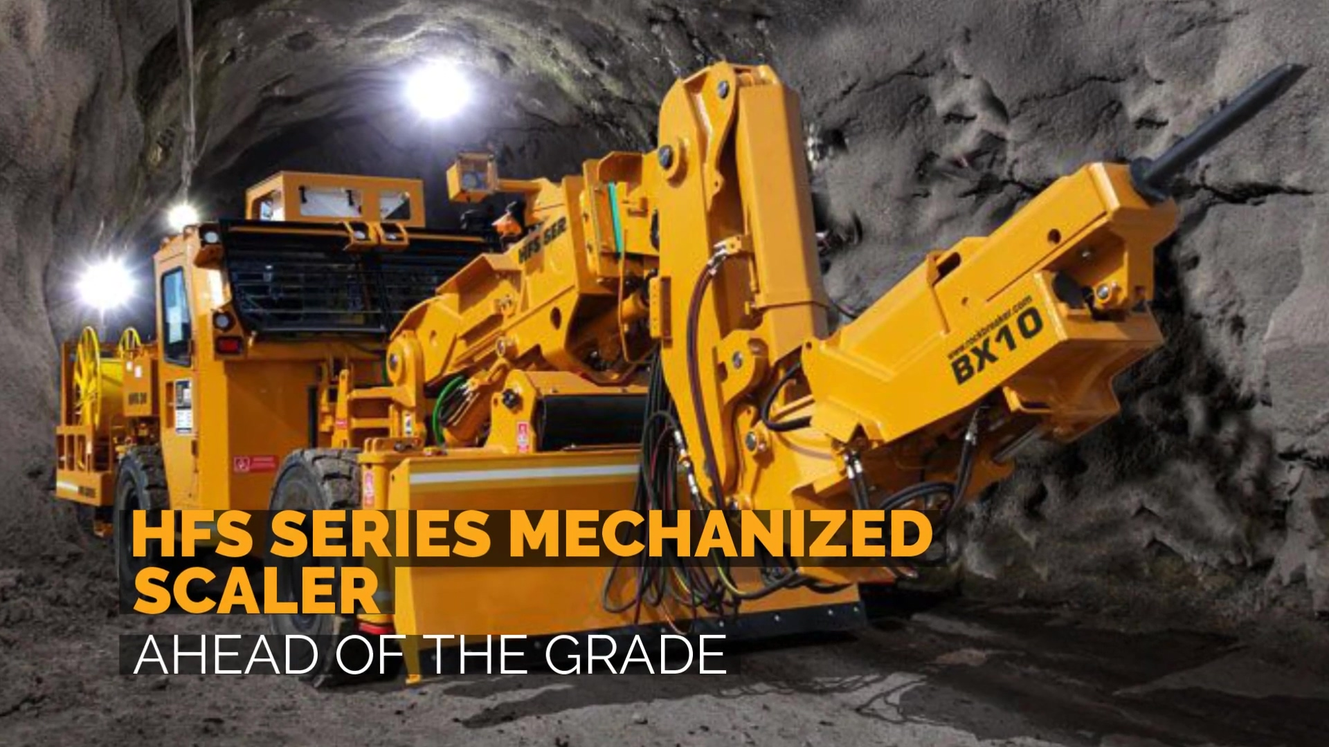 Breaker Technology   HFS Mechanized Scaler   Ahead of The Grade