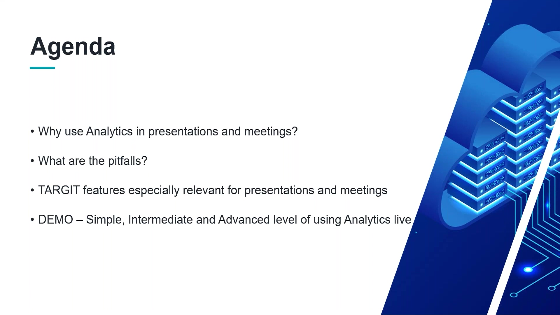 Make Presentations and Meetings More Effective with Analytics