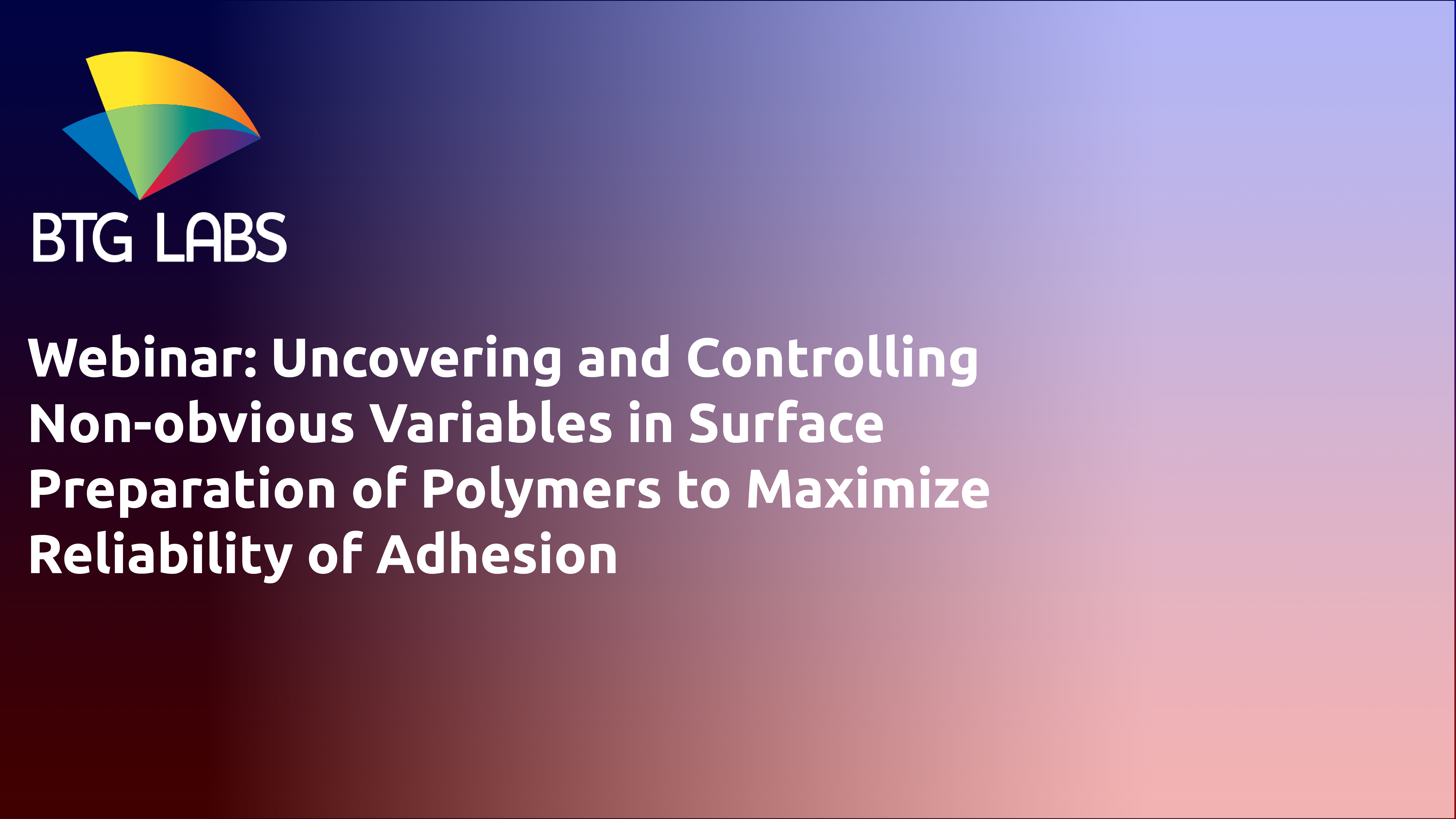 2019-05-02 14.01 Uncovering and Controlling Non-obvious Variables in Surface Preparation Processes f