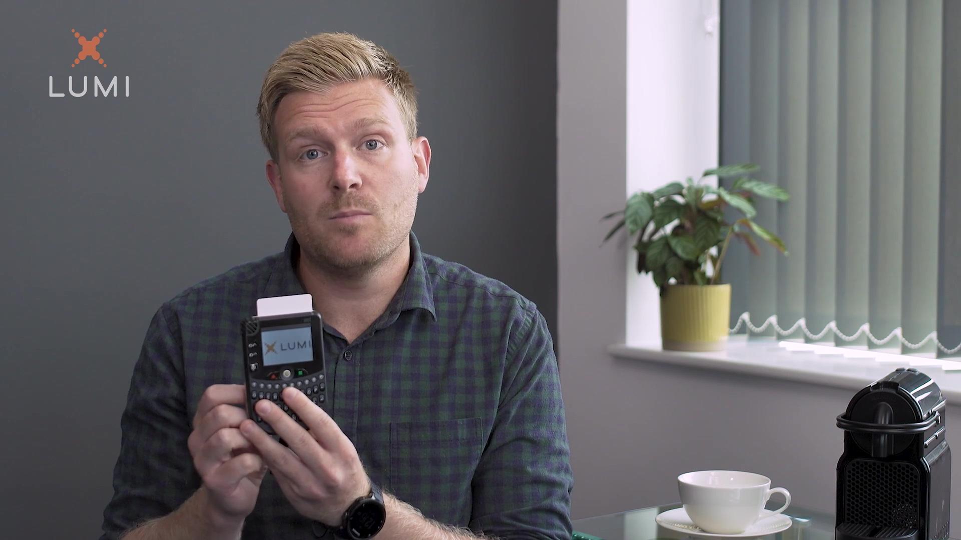How does the Lumi keypad device work - Web