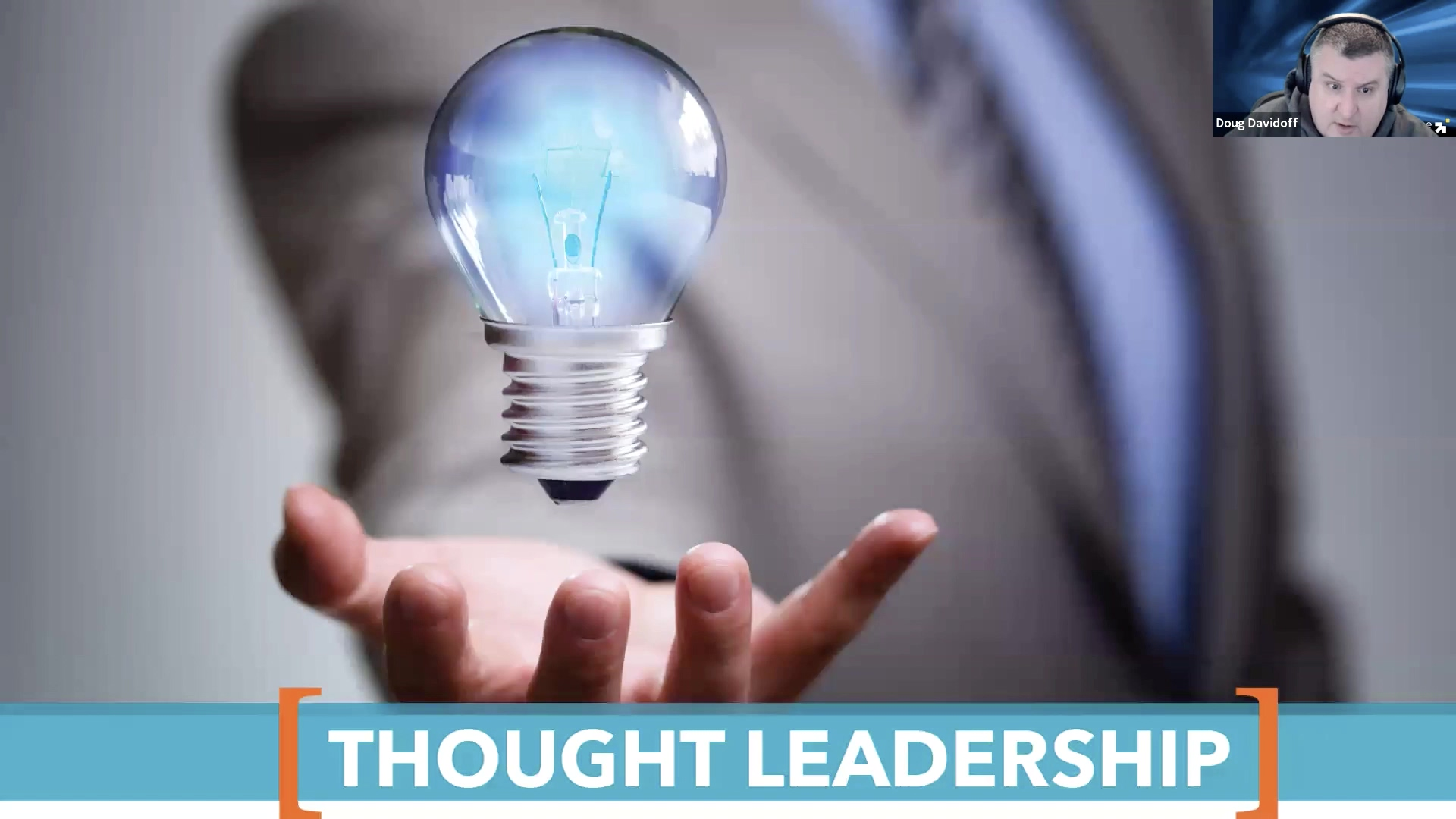 The Problem With Thought Leadership